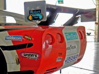 The Wesbank V-8 Championship series runs Trans-Am style cars with some increases in wing and front downforce
