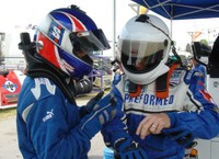 Highlight for Album: Teamwork is the name of the game at VIR Daytona Prototype race